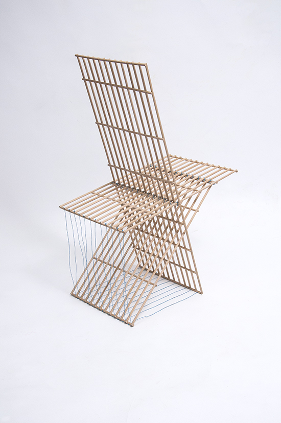 Geoffrey Pauchard design workshop Sticks Chair